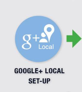 set up - google local